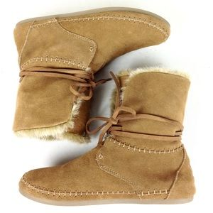Toms Suede Ankle Boots 8